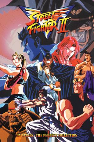 Street Fighter 2 Victory Serie Completa DVDRip Español Latino