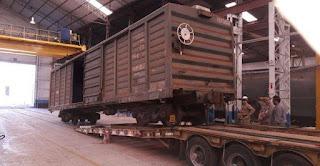 Fabricaciones Militares recupera mercado Ferroviario