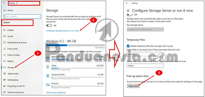 Cara Menghapus Cache Windows 10