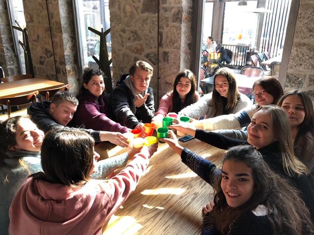 Το 1ο Λύκειο Ναυπλίου φιλοξένησε μαθητές από τη Λετονία και την Πολωνία