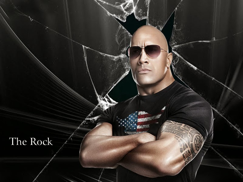 Images Of The Rock Wwe: THE ROCK HD WALLPAPERS