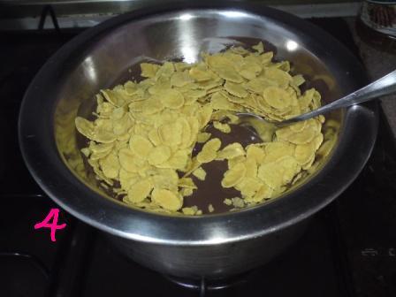 Cara buat Cornflakes Coklat 2