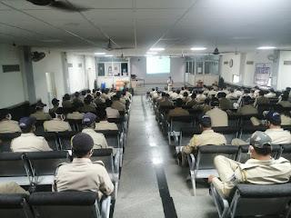 आगामी उपचुनाव 3 नवंबर के लिये जिला पुलिस है तैयार, शांतिपूर्ण एवं निष्पक्ष चुनाव के लिये पुलिस को दिया जा रहा है प्रशिक्षण