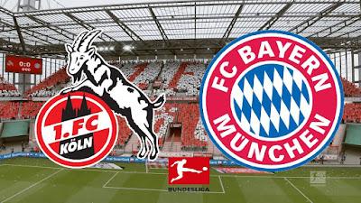 مشاهدة مباراة بايرن ميونخ ضد كولن اليوم 31-10-2020 بث مباشر في الدوري الالماني