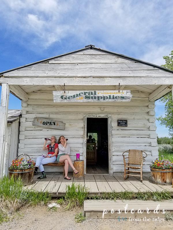 old general store at Grand Tetons National Park