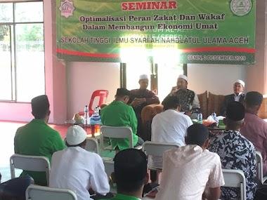 STISNU Adakan Seminar Tentang Peran Zakat dan Wakaf