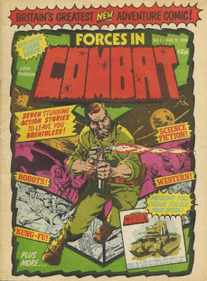 Forces in Combat #1, Nick Fury, Marvel UK