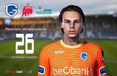 PES 2021 Faces Maarten Vandevoordt by CongNgo