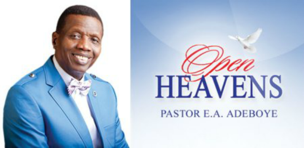 Open Heaven 24 August 2018 Prayer Points For Today – An Agent of