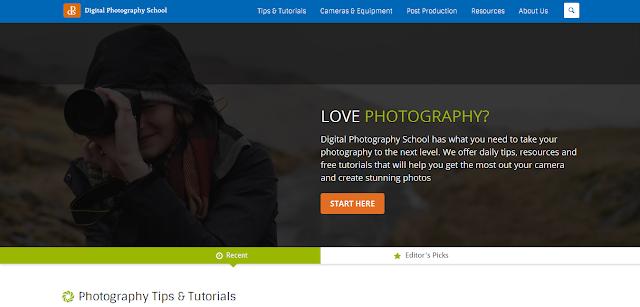 Inilah Website Fotografi Yang Wajib Dikunjungi Oleh Para Fotografer untuk belajar fotografi