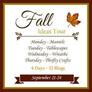 DIY Fall Wreath Day - 2015 Fall Ideas Tour