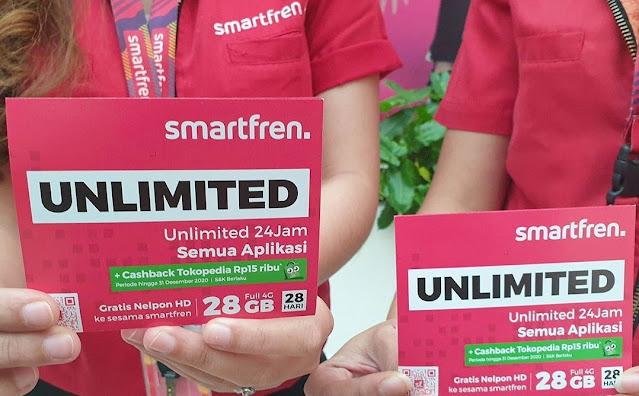 Cara Membeli dan Mengaktifkan Paket Unlimited Relaunch Smartfren Rp22 Ribu