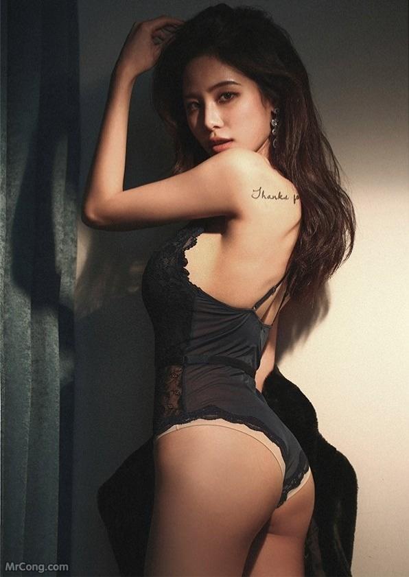 Image Korean-Model-Ju-Woo-012018-MrCong.com-008 in post Người đẹp Ju Woo trong bộ ảnh nội y tháng 01/2018 (50 ảnh)