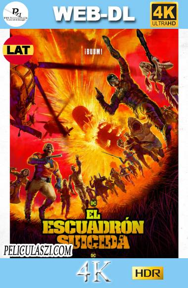The Suicide Squad (2021) Ultra HD WEB-DL 4K HDR Dual-Latino VIP