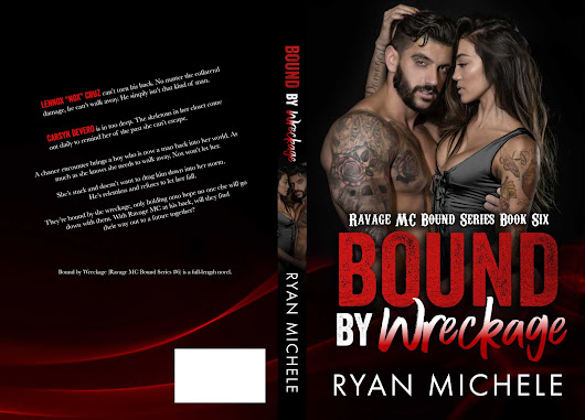 COVER REVEAL & GIVEAWAY of Bound by Wreckage by Ryan Michele