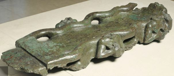 Image result for Table ornée de serpents et de divinités aux eaux jaillissantes bharatkalyan97