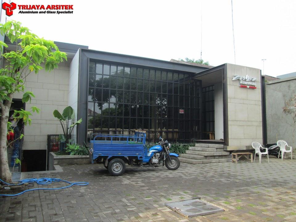 Aluminium Composite Panel, Facade, Letter Acrylic, Plafon, Proyek Surabaya