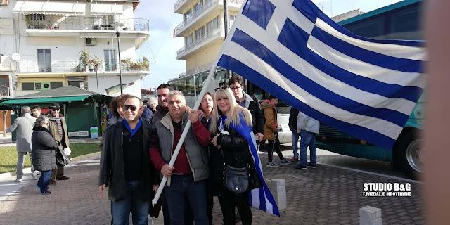 Αναχώρησαν τα λεωφορεία από το Άργος για το συλλαλητήριο της Αθήνας για την Μακεδονία