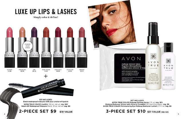 avon catalog 22-23 kiss and makeup sale flyer