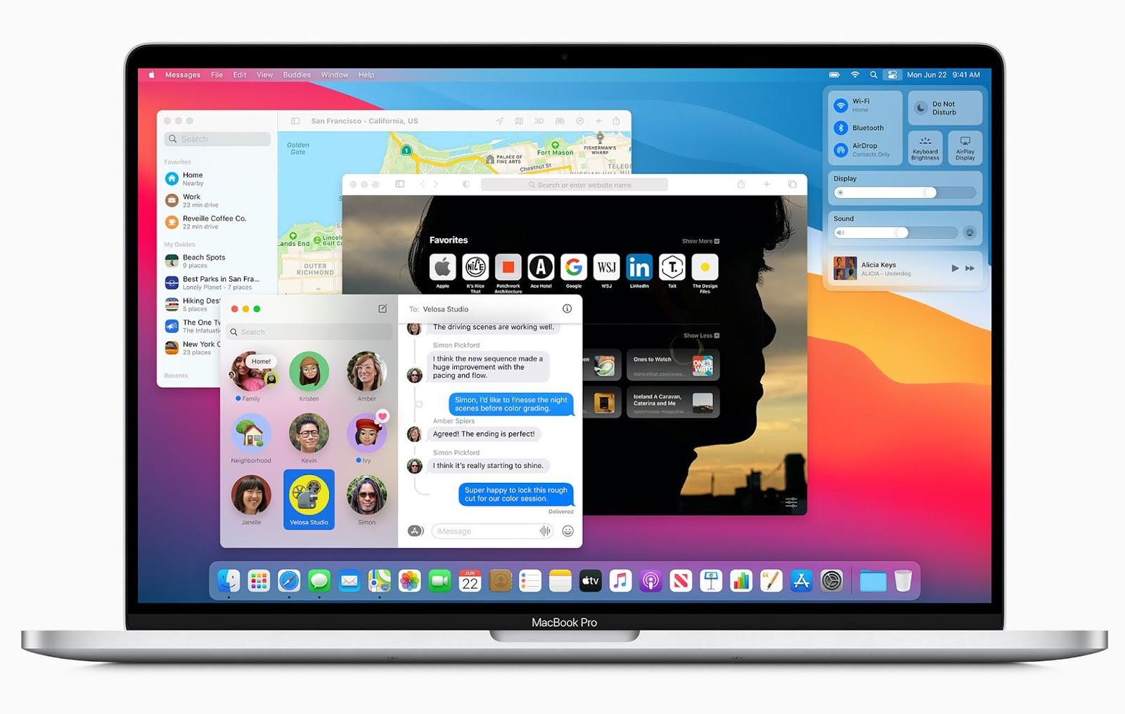 macOS Big Sur 全新iOS風格設計:UNIX與Mac經典結合
