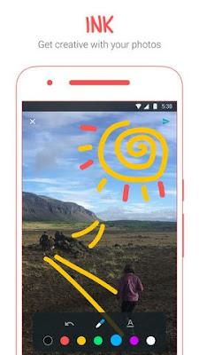 Fitur Google Allo Ink Untuk Menandai Foto