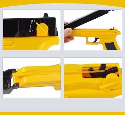 Súng bắn thun Glock màu vàng 1