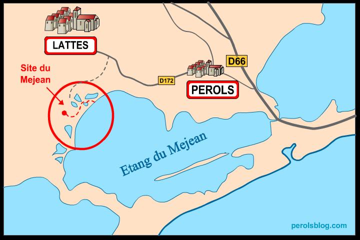 Site du Méjean - Maison de la Nature (Lattes)