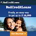 BadCreditLoans | Get easy loans upto $10k
