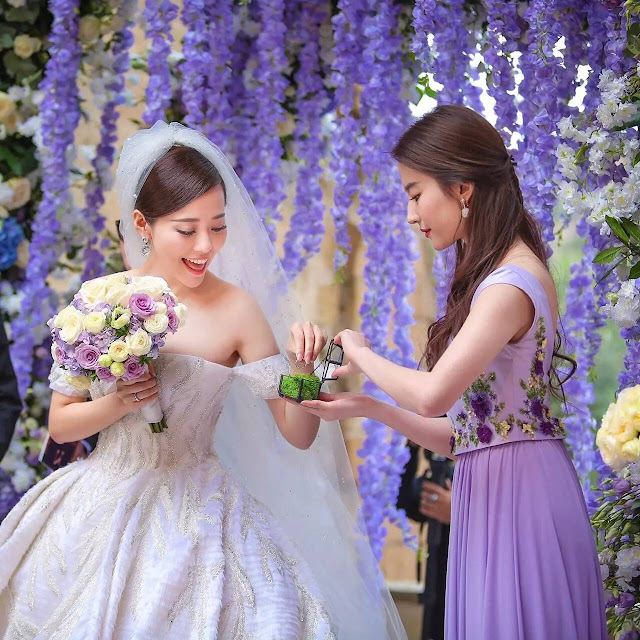 Jane Zhang Wedding