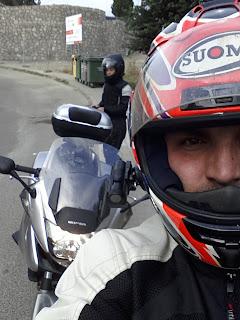 ruta en moto por Peguerinos