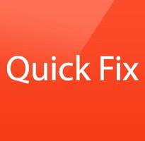 quick fix opencart