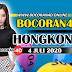 Bocoran Misteri 4D HK 4 Juli 2020