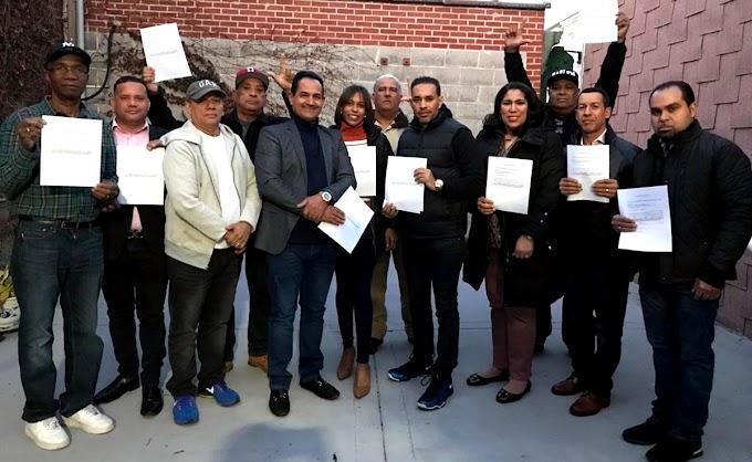 Decenas de  dirigentes y miembros del PLD en Nueva York renuncian para pasar a FP en apoyo a Leonel