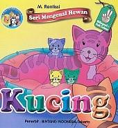 Seri Mengenal Hewan – Kucing – Bilingual & Full Color