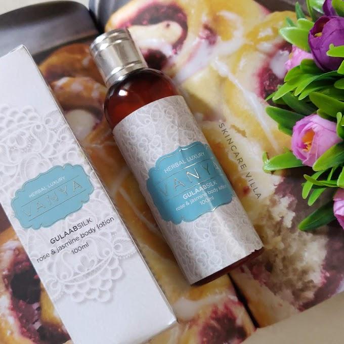 Vanya Herbal Rose & Jasmine Body Lotion Review