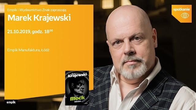 Zapraszam na spotkanie autorskie z Markiem Krajewskim