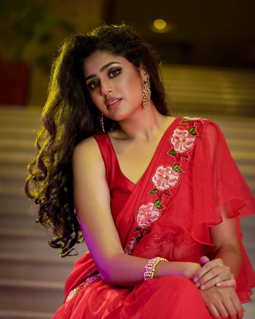 Faria Abdullah images in saree