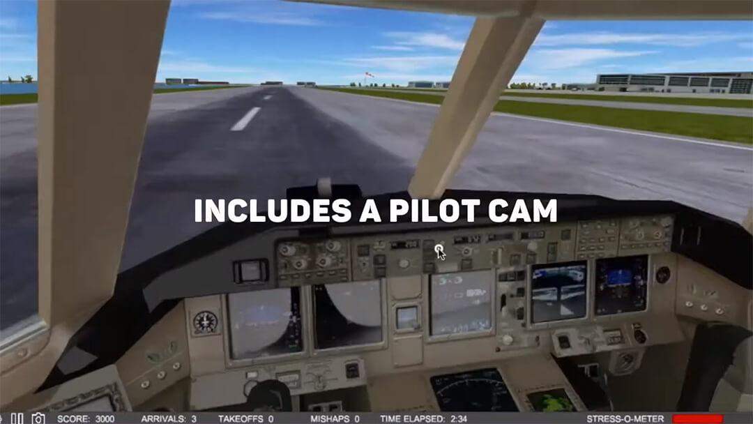 لعبة محاكاة قيادة الطيارات