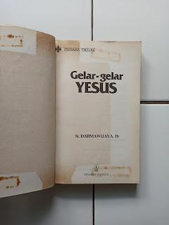 Pustaka Teologi Gelar-Gelar Yesus