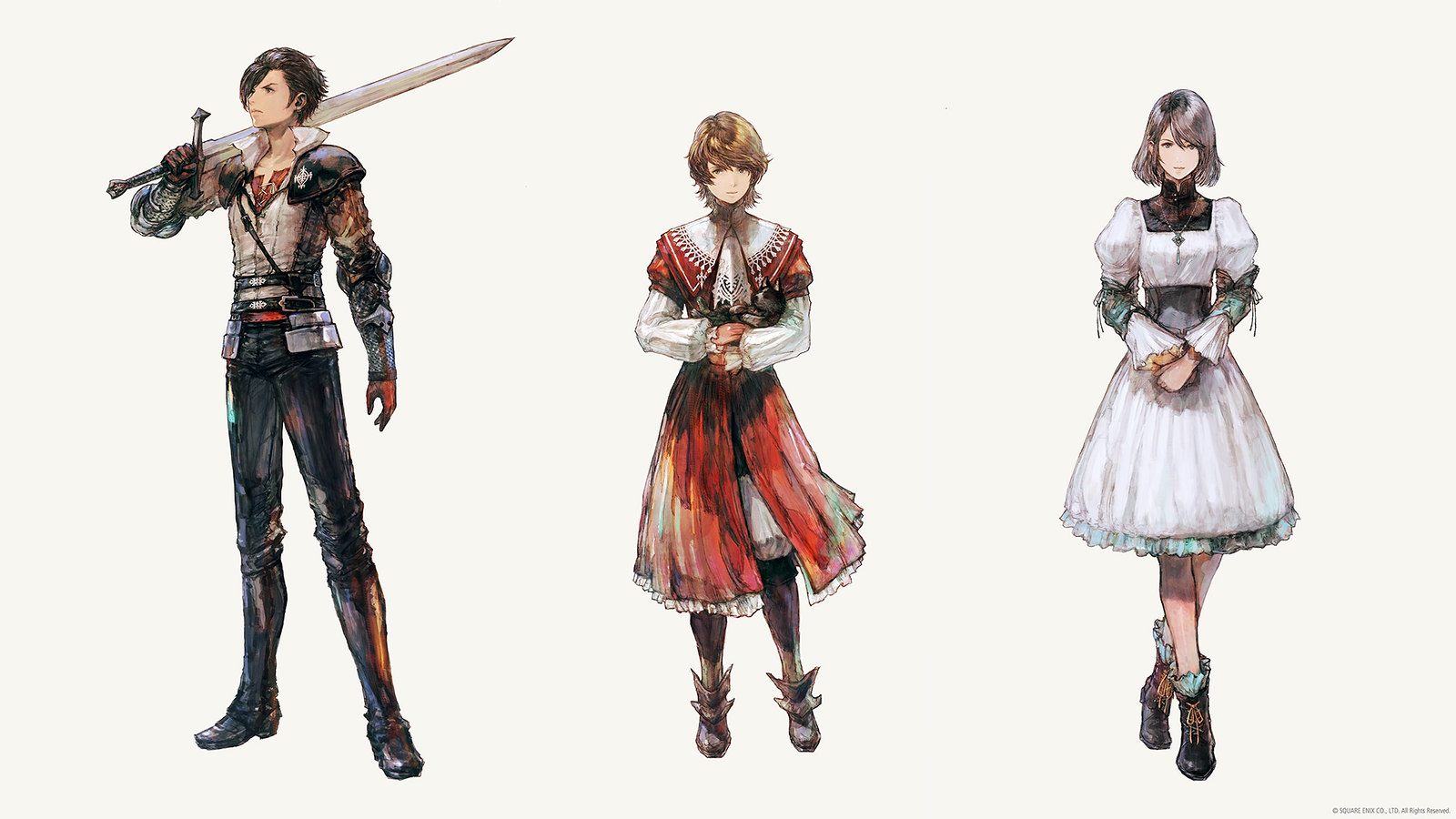 Final Fantasy XVI - About the main characters