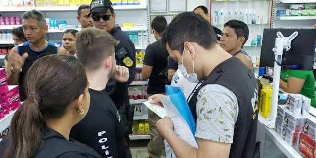 Polícia Civil e Procon fiscalizam venda de álcool em gel, máscaras e luvas