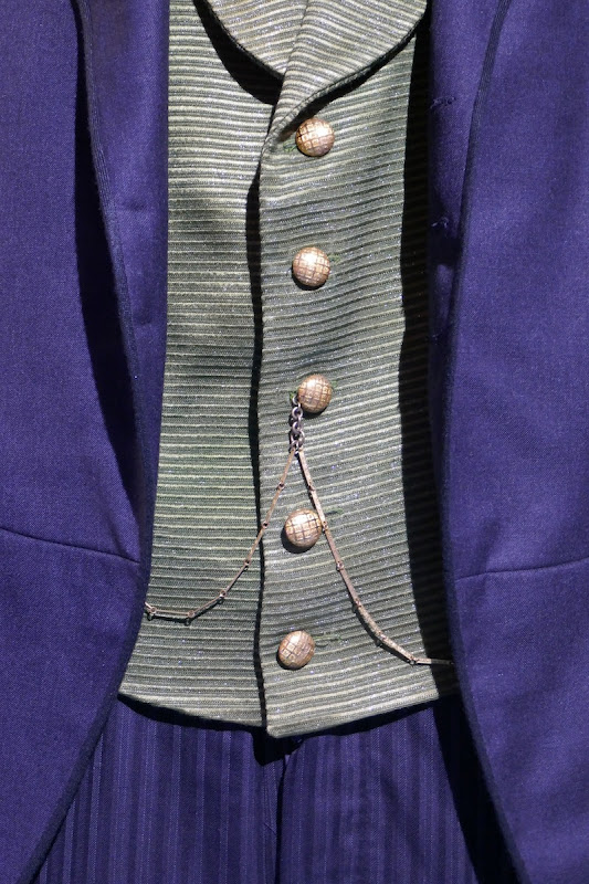 Oz the Great and Powerful waistcoat detail