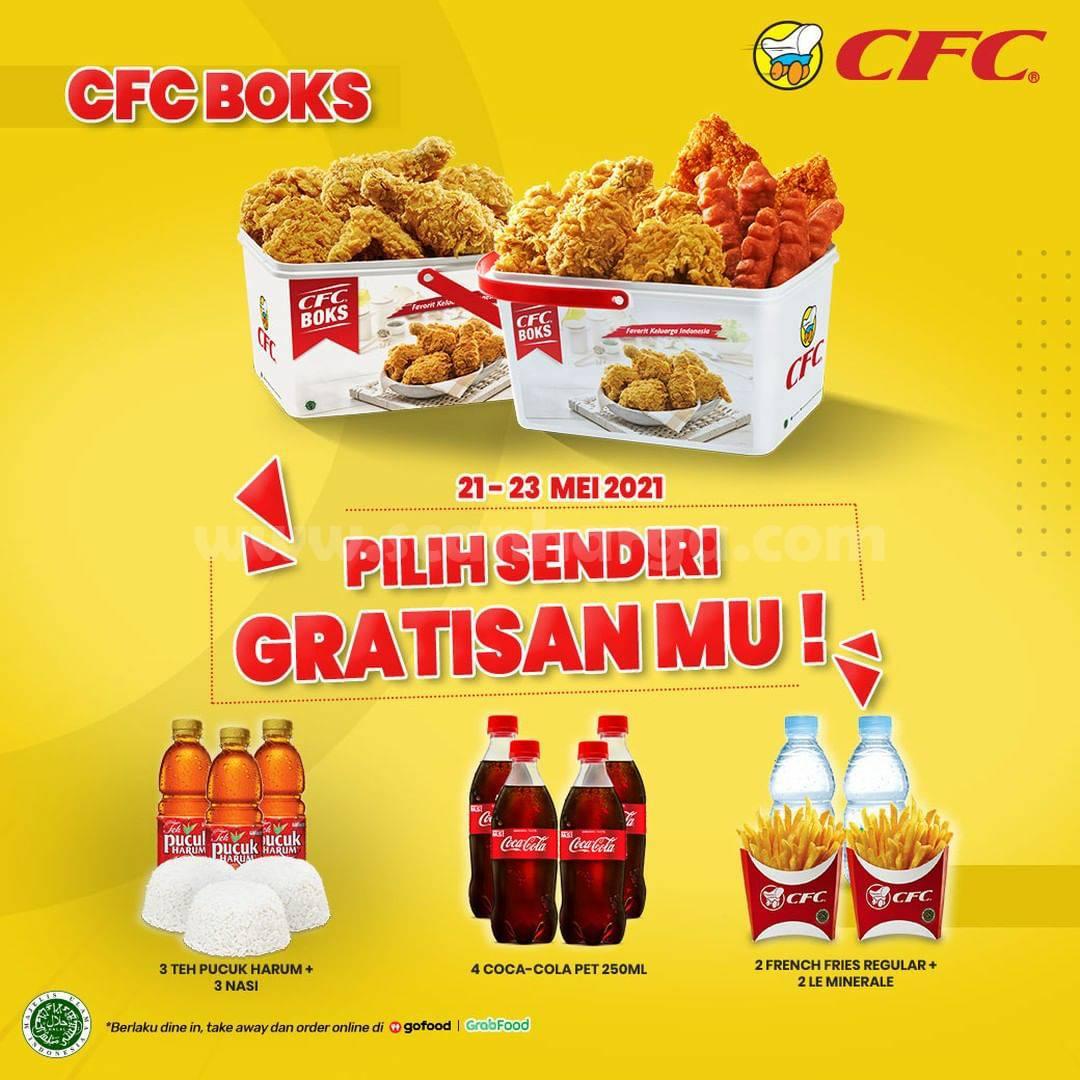 CFC Promo BOKS! - Pilih Sendiri GRATISANMU!