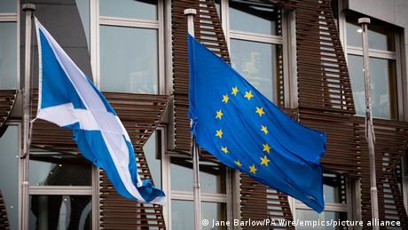 H Σκωτία υποστέλλει τη βρετανική σημαία;
