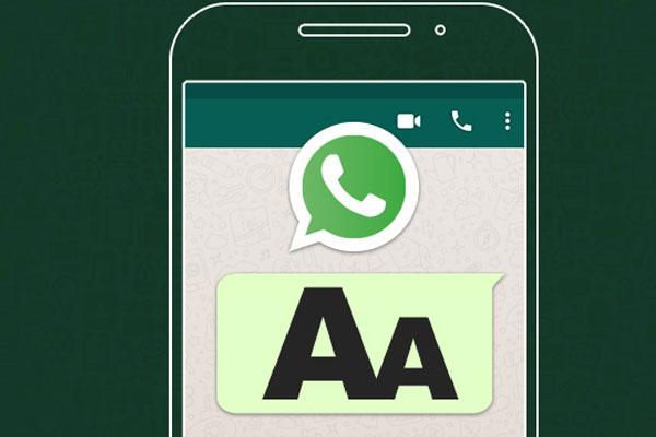 mensagem no whatsapp