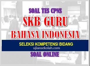 soal cat cpns guru bahasa indonesia