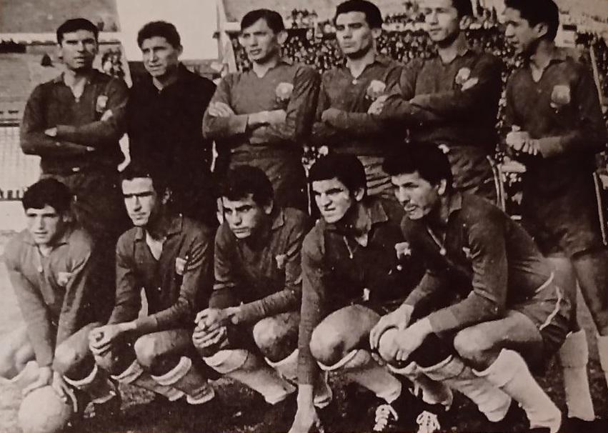 Formación de Chile ante Uruguay, Copa Juan Pinto Durán 1965, partido de vuelta
