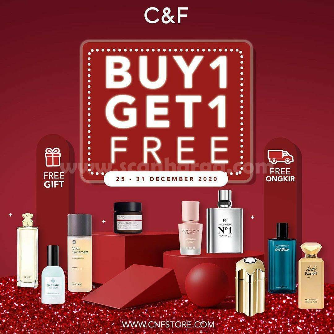 Promo C&F Special Year End Sale – Buy 1 Get 1 Free