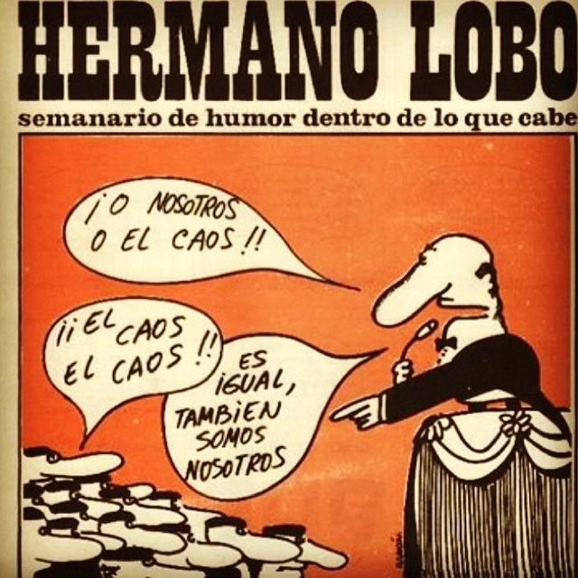 viñeta,hermano_lobo,chumy_chumez,nosotros,caos,españa,politica,bipartidismo,pp,psoe