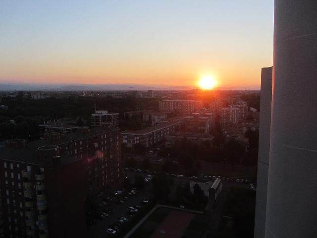 Vista dal mio nuovo appartamento